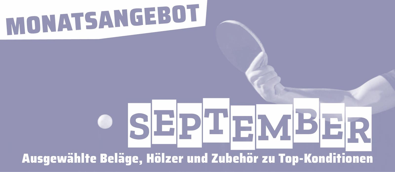 Monatsangebot September 2019