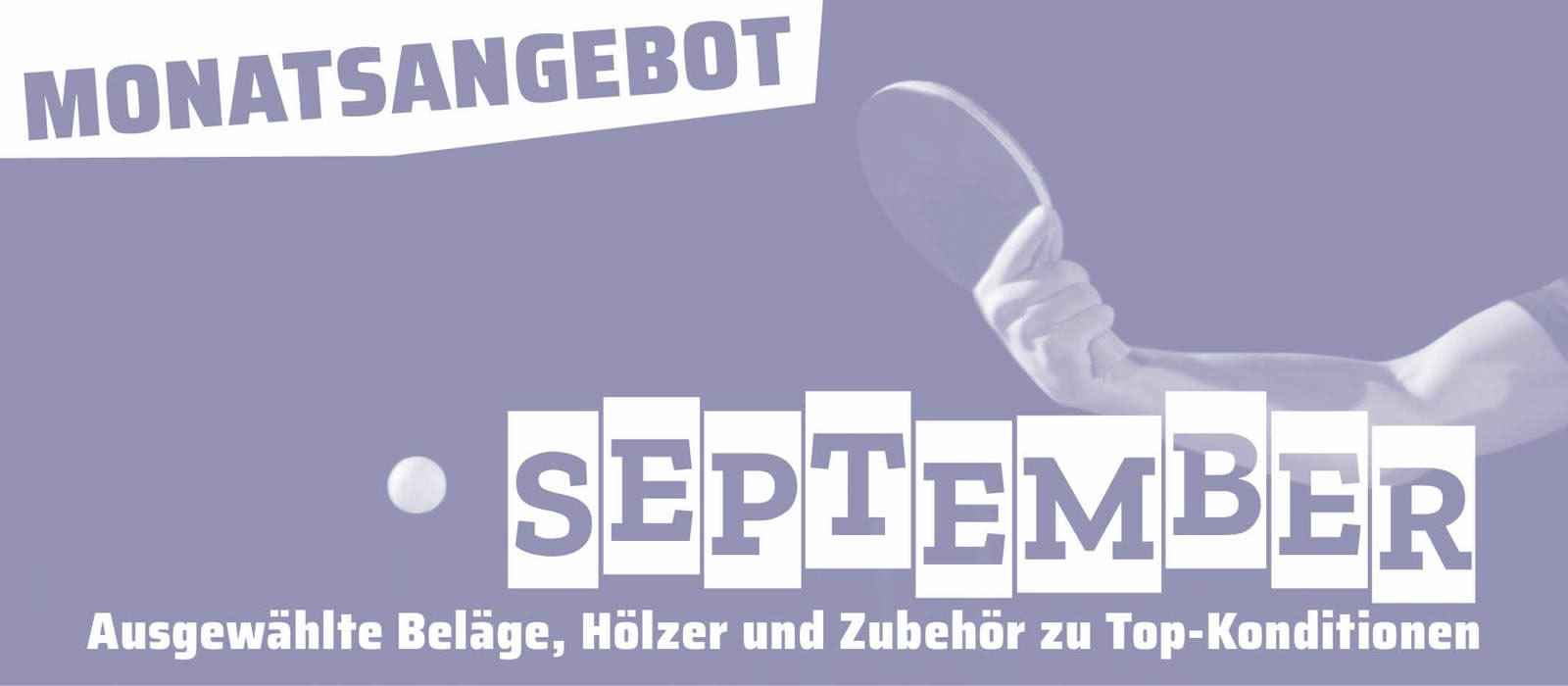 Monatsangebot September 2020
