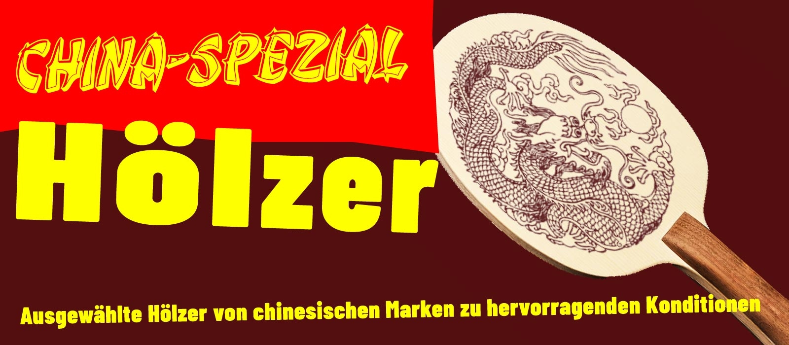 China-Spezial Hölzer - All