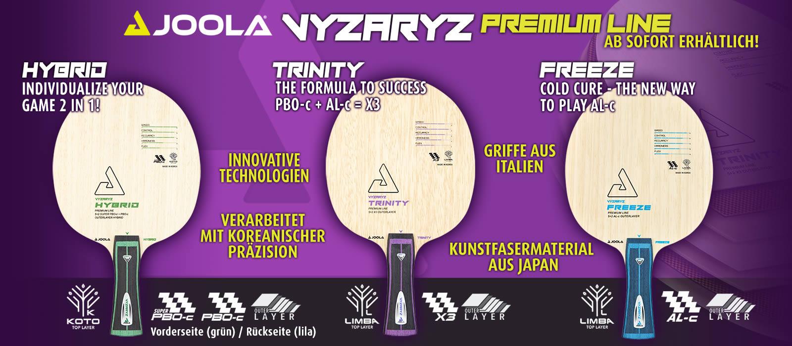 Joola Vyzaryz Holz-Serie
