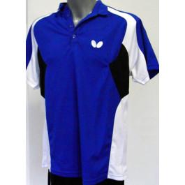 Butterfly Shirt Shiro blau