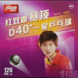 Tischtennisball DHS D40+ 1* 120er