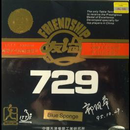 Tischtennisbelag Friendship 729 FX blauer Schwamm