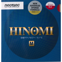 Tischtennisbelag Neottec Hinomi-M