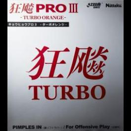 Tischtennisbelag Hurricane Pro III Turbo Orange