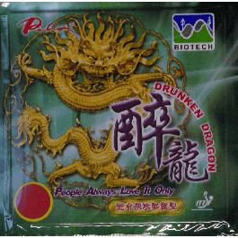 Tischtennisbelag Palio Drunken Dragon Biotech