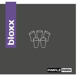 Tischtennisbelag - PiMPLEPARK Bloxx