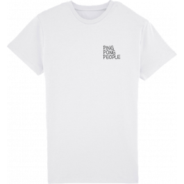 PING PONG PEOPLE Younite Collection Men´s PPP White #1