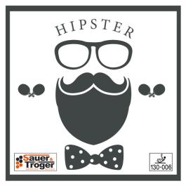 Tischtennisbelag Sauer&Tröger Hipster