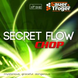 Tischtennisbelag Sauer&Tröger Secret Flow Chop