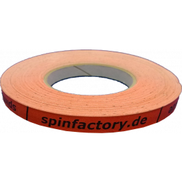 spinfactory Kantenband 12mm - 50 Meter orange