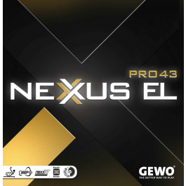 Tischtennisbelag - Gewo Nexxus EL Pro 43
