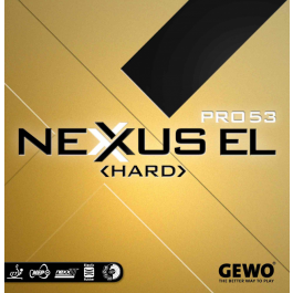 Tischtennisbelag Gewo Nexxus EL Pro 50 Hard