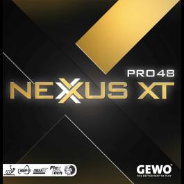 Tischtennisbelag Gewo Nexxus XT Pro 48