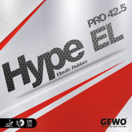 Tischtennisbelag Gewo Hype EL Pro 42.5