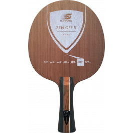 Tischtennisholz Sunflex Zen Off 5