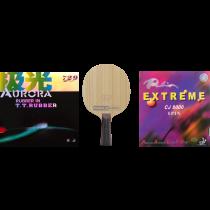 Tischtennisschläger Fertigschläger Komfort