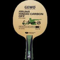 Tischtennisholz Aruna Hinoki Carbon Off