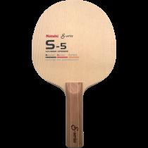 Tischtennisholz Nittaku S-5 S-Series Ansicht 1