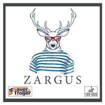 Tischtennisbelag Sauer&Tröger Zargus