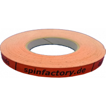 spinfactory Kantenband 12mm - 50 Meter orange