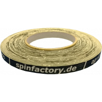 spinfactory Kantenband 12mm - 50 Meter schwarz