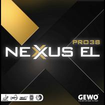 Tischtennisbelag - Gewo Nexxus EL Pro 38