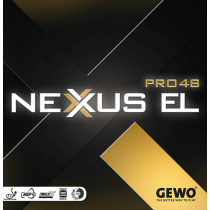 Tischtennisbelag Gewo Nexxus EL Pro 48