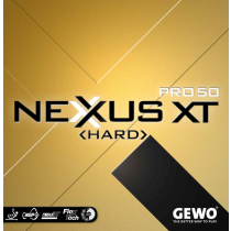 Tischtennisbelag Nexxus XT Pro 50 Hard