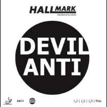 Tischtennisbelag Hallmark Devil Anti