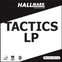 Tischtennisbelag - Hallmark Tactics-LP