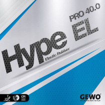 Tischtennisbelag Gewo Hype EL Pro 40.0