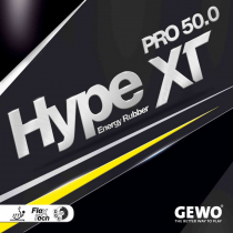 Tischtennisbelag - Gewo Hype XT Pro 50