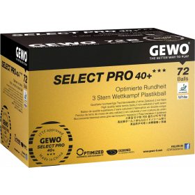 Select Pro 40+ 72er Packung weiss