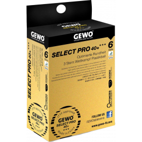 Select Pro 40+ 6er weiss