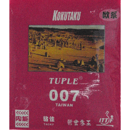 table tennis rubber Tuple 007 Tension Tacly