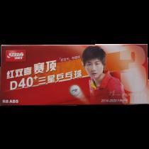 table tennis ball DHS D40+ 3*** ITTF 10er