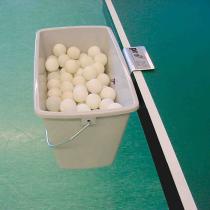Grey Box Ballbehälter grau