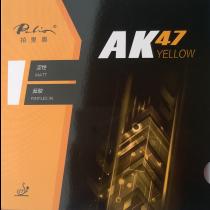 table tennis rubber AK47 Yellow