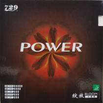 table tennis rubber Bloom-Power