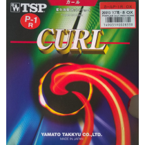 table tennis rubber TSP Curl P1R