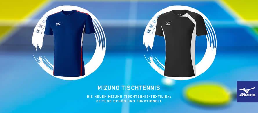 Mizuno Tischtennistextilien