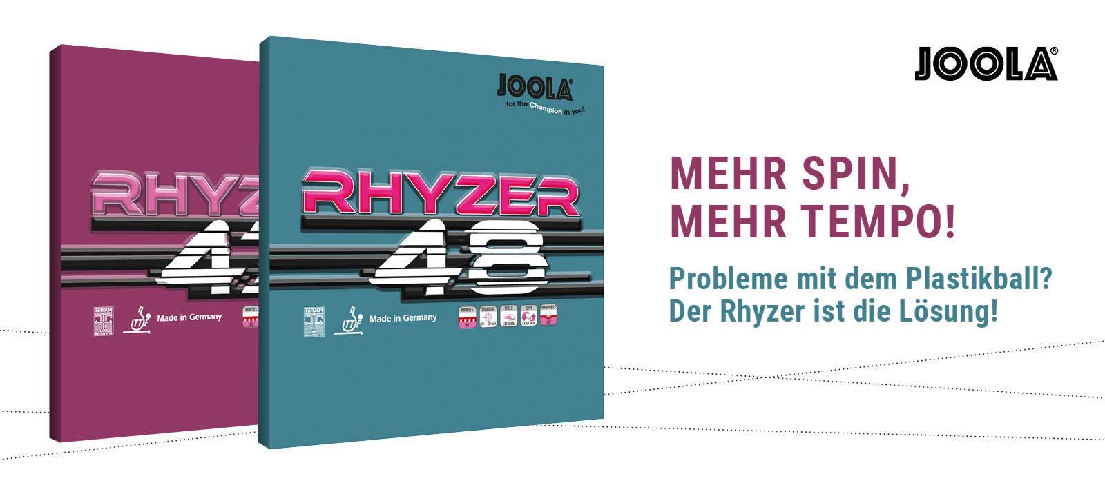 Joola - Rhyzer - Belagserie