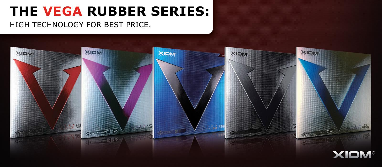 Xiom - vega rubber serie