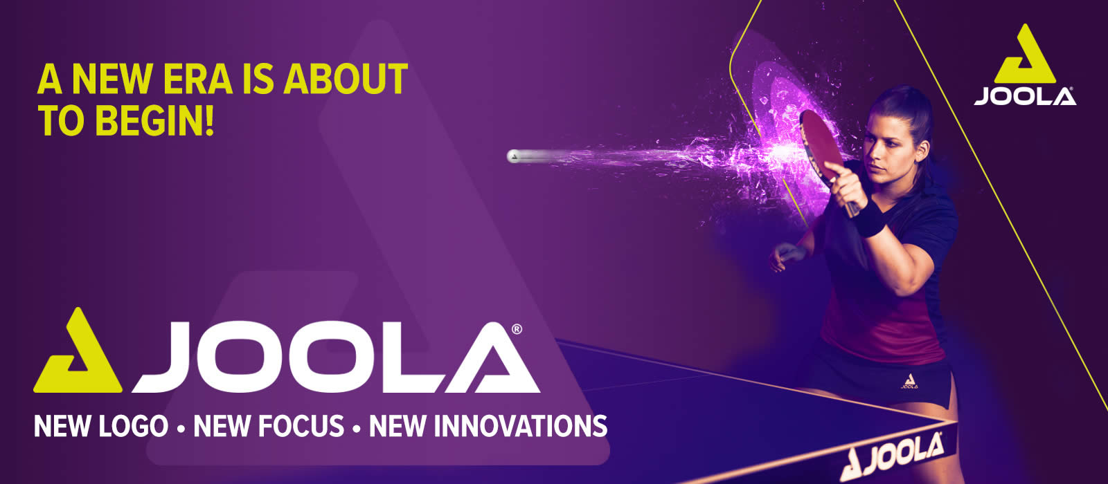 Joola Logo Launch